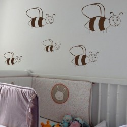 Sticker abeilles