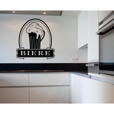 Stickers cuisine chope bière