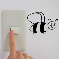 Sticker interrupteur/prise abeille