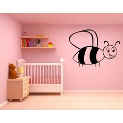 Sticker abeille seule