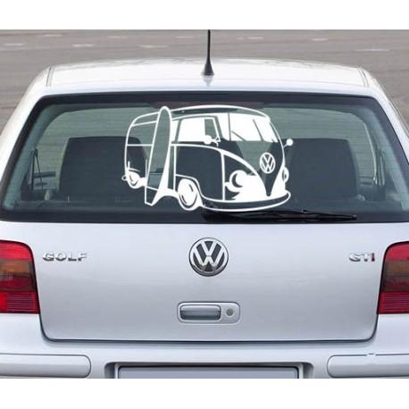 Sticker auto combi Volkswagen VW