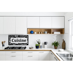 Sticker pancarte écriture cuisine