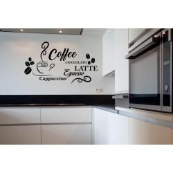 Sticker cuisine café coffee espresso latte