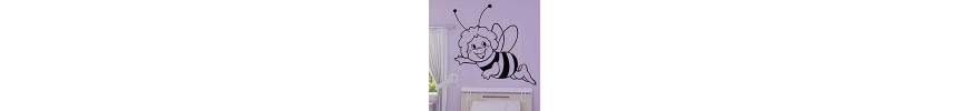 Stickers muraux, déco & stickers animaux abeilles - stickers pas cher - stickez.com