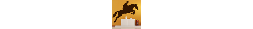 Stickers muraux, déco & stickers animaux chevaux - stickers pas cher - stickez.com
